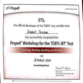 TOEFL coaching center in gurgaon