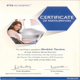 Master trainer of PTE - Academic in gurgaon